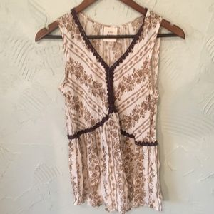 Knox Rose Boho Tank Top